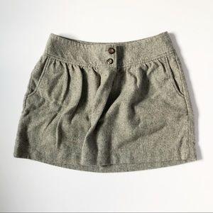 Gap Gray Casual Skirt